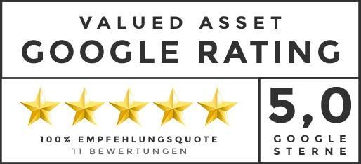Valued Asset | Google Rating